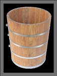 15 quart replacement white oak tub for antique 15 quart white mountain