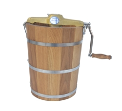 8 Quart Country Freezer Best Hand Crank Ice Cream Churn