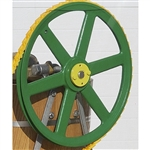 12 Inch Cast Pulley for 20 quart ice Cream Maker