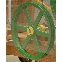 double v belt pulley