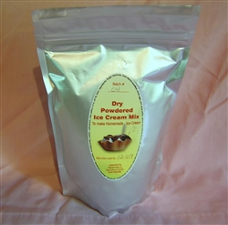 20 quart or 5 gallon Amish Dry/ powdered Ice Cream Mix  Case Makes 60 Gallons 12 individual packs  CountryFrozenDesserts