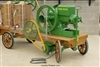 Wash-Down electric motor option for our complete units with antique John Deere hit and miss engines.