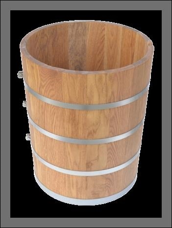 15 Quart Replacement Tub For Antique White Mountain Ice