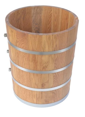 20 quart or five 5 gallon ice cream maker white oak wood tub
